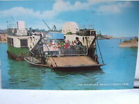 The Floating Bridge, Cowes, Isle of Wight - Colour Postcard