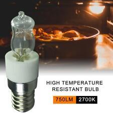 2PCS 50W SES E14 Small Screw Cap Light Bulb 500℃ Oven Cooker Lamp 110V/220V