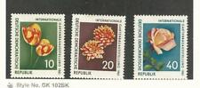 Germany - DDR, Postage Stamp, #565-567 Mint LH, 1961 Flowers