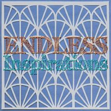 "6""x6"" Endless Inspirations Stencil, Papyrus - Free US Shipping"