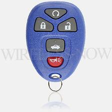 Car Key Fob Keyless Remote Navy For 2011 2012 2013 Chevrolet Impala
