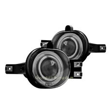 Clear Lens Projector Fog Driving Lights Lamps Set W/Led Halo for 02-09 Dodge Ram