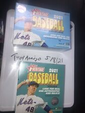 2 Topps Heritage Baseball 2021 Mega Box One From Target Other From Walmart