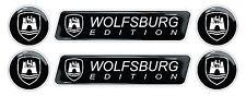 VW Wolfsburg Edition 3d domed emblem decal sticker knob Golf Polo CC