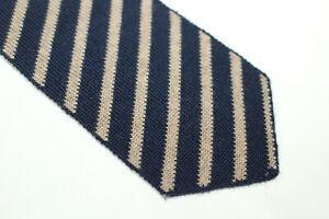 THE LOMBARDI Twin Tie Wool tie Made in Italy F13147  man