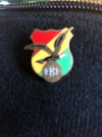 Rare Vintage football soccer pin Bolivia football