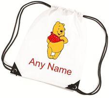 Personalizado De Winnie Pooh estilo PE/Escuela/Natación/Bolsa por mayzie Diseños ®