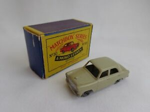 Vintage Matchbox Lesney Moko No30 Ford Prefect Saloon EXCELLENT BOXED!