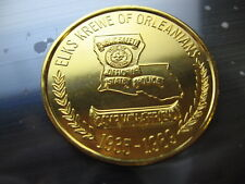 Louisiana State Police 1989 Elks new orleans mardi gras doubloon Rare