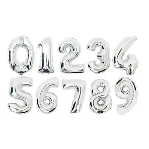 16'' Inch Cute Safari Animals Theme Numbers Party Balloons Decorations Supplies
