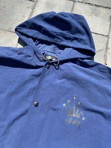 Vintage 90s Stussy Button Up Coach Jacket Size Large