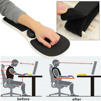 Home Office Computer Arm Rest Chair Armrest Mouse Mat Pad Wrist Support LongWQE