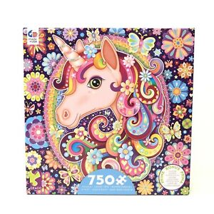 Ceaco Groovy Animals Unicorn Jigsaw Puzzle 750 Pieces for Girls 12+