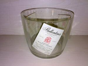 Eiskübel Eisbecher Eiskühler BALLANTINES * BELL'S * WHITE LABEL * D: ca. 14 cm *