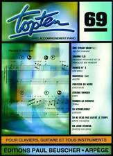 Partition pour voix - Top Ten 69 - Lou Bega, Cher, Mylène Farmer... Topten