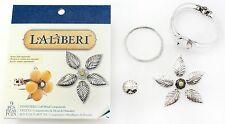 Silver Pinwheel Cuff Bracelet, Laliberi Jewelry Kit EK SUCCESS - NEW, 56-27013