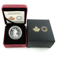 2014  Canada $5 Canadian Expeditionary Force Fine Silver Coin ( Exempt Taxe)