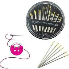 Self Threader Threading Sewing Needles Hand Sewing SET Embroider N9G4