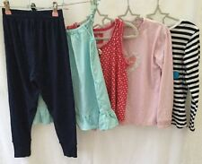 Girls Bundle Of Clothing Age 6-7 Lady Bird H&M <H348