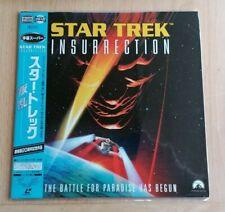 Star Trek: Insurrection (1998) NTSC AC3 Japanese Laserdisc PILF-2786