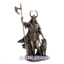 Loki Statue Ornament Figurine Nemesis Now Figure With Post G1990