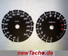 Kawasaki  ZZR1400 ZZR 1400 GTR Tachoscheiben Tacho Dial gauge black tuning zx14r