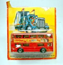 "Matchbox SF Nr. 17B The Londoner ""Bisto Kid"" PLASTIK-Bodenplatte"
