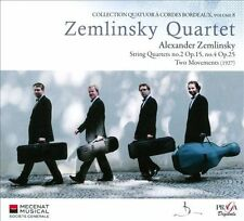 ZEMLINSKY:STRING QTS NOS 2 & 4 TWO MO NEW CD