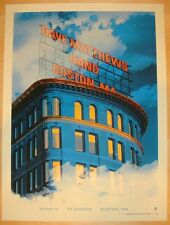 Dave Matthews Band Poster 2012 Td Garden Boston Ma Signed & Numbered #/615 Rare!