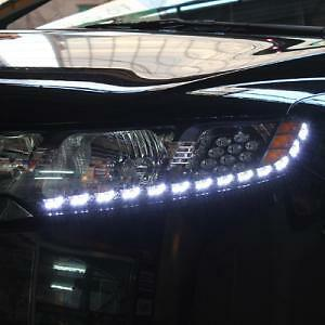LED Head Lamp audi-Line TF Version Diy Kit For 09 12 Kia Forte Koup :Cerato Koup