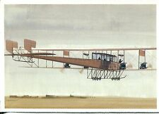 """POST CARD OF HISTORIC AIRPLANES SIKORSKY RUSSIAN KNIGHT """"LE GRAND"""" 4&1/4x6 APROX"""