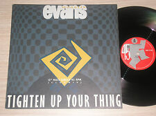 """MONETTE EVANS - TIGHTEN UP YOUR THING - MAXI-SINGLE 12"""" HOLLAND"""