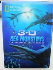 3-D Sea monsters - NATIONAL Geographic + 4 3D BRILLEN - SEAL