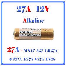 5 Pile Batterie 27A 12V MN27 A27 LR27A GP27A E27A V27A L828