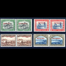 SOUTH WEST AFRICA 1945-50 Officials. SG O18-O20. Lightly Hinged Mint. (AM145)