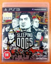 Sleeping Dogs-Playstation PS3 Spiele-sehr guter Zustand