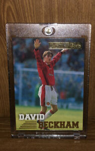 1996 Merlin Premier Gold David Beckham #092 Rookie Card RC