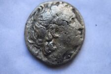 Griego antiguo plata Ptolomeo X11 Tetradracma 1st Century BC