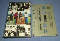 LED ZEPPELIN CODA 747 LABEL cassette tape album