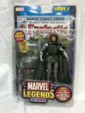 Marvel Legends DR DOOM SERIES II NIB WITH COMIC BOOK AND MOUNT