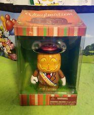 "Disney Vinylmation 3"" Park Set 1 Not So Scary Halloween Pumpkin Mayor New"