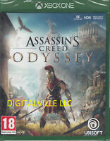 Assassins Creed Odyssey Xbox One Brand New Factory Sealed