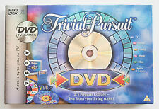 Trivial Pursuit DVD Game by Parker - Family Trivia Board Game - Complete VGC