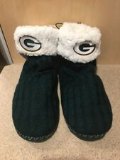 Green Bay Packers NFL Women's Green Bootie Slippers Size XLarge 11/12 - NWT