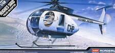 Academy Hughes 500d CHP 500 D MOTO Personaggi Polizia modello 1:48 - KIT BIKE