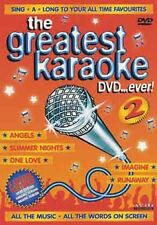THE GREATEST KARAOKE - DVD - REGION 2 UK