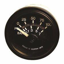 Frank W. Murphy EG21 Series Electric Gauge Oil Pressure 100 psi 05702397 12V MD