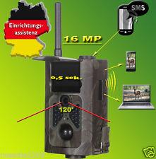 16MP Wildkamera Fotofalle,HC-550M Weitwinkel 120° GPRS/Email inkl.Konfig.