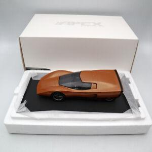 APEX 1:18 Holden Hurricane #002 1969 Concept Car Orange Limited Edition Resin
