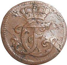 German States Brandeburg-Bayreuth 1 Heller 1767 KM#253 Friedrich Christia (4383)